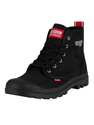 Palladium Pampa Hi Dare Boots - Black