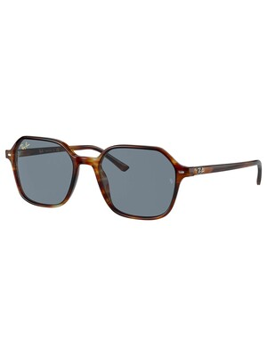 Ray-Ban John Striped Havana Sunglasses - Striped Tortoise