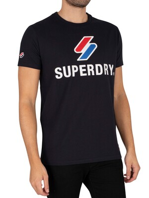 Superdry Sportstyle Classic T-Shirt - Deep Navy