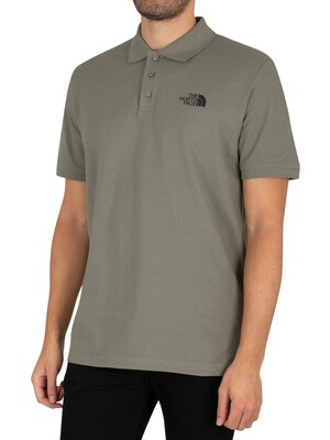The North Face Calpine Polo Shirt - Agave Green