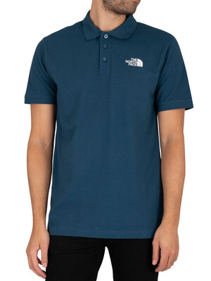 The North Face Calpine Polo Shirt - Monterey Blue