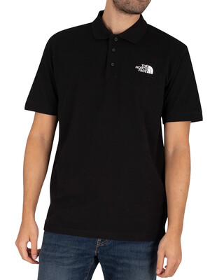 The North Face Calpine Polo Shirt - Black