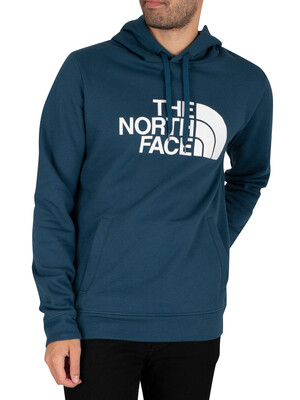 The North Face Half Dome Pullover Hoodie - Monterey Blue