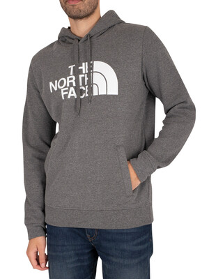 The North Face Half Dome Pullover Hoodie - Medium Grey Heather