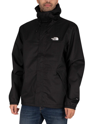 The North Face Shell Lightweight Jacket - Black/White