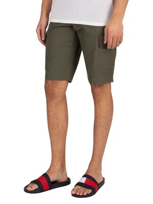 Tommy Hilfiger John Cargo Shorts - Army Green