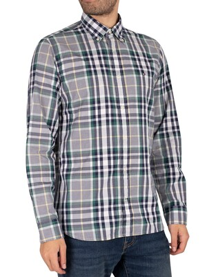 Tommy Hilfiger Midscale Check Shirt - Rural Green/Yale Navy/Multi