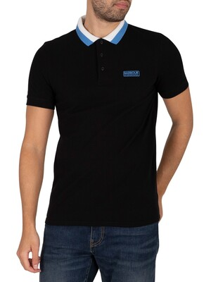 Barbour International Ampere Polo Shirt - Black