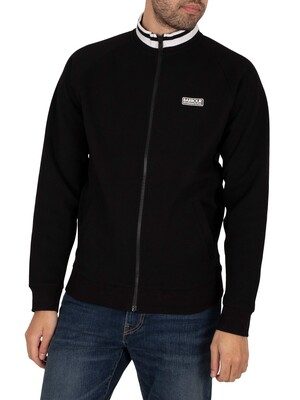 Barbour International Lightweight Track Jacket - Black