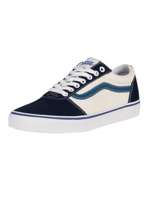 Vans Ward Retro Sport Trainers - Navy/White/Moroccan Blue