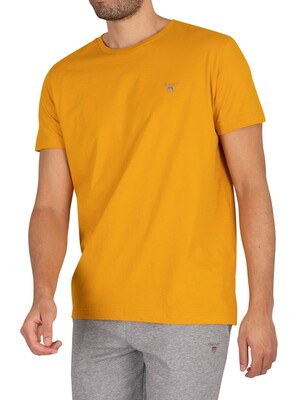 GANT Original T-Shirt - Ivy Gold