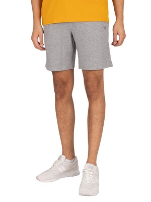 GANT Original Sweat Shorts - Grey Melange