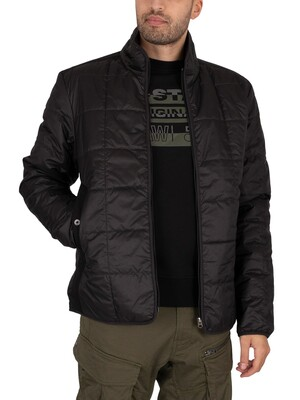 G-Star Lightweight Quilted Jacket - Dark Black