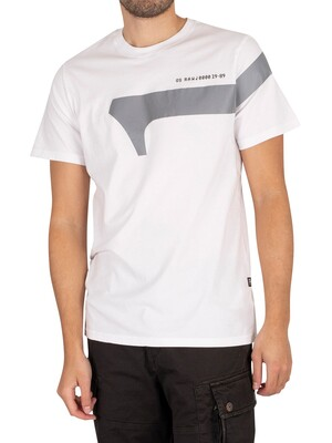 G-Star Reflective Graphic T-Shirt - White