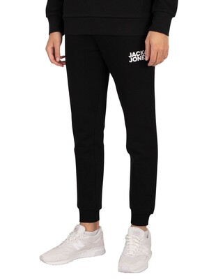 Jack & Jones Gordon New Soft Logo Joggers - Black