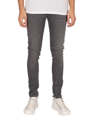 Jack & Jones Liam Original 010 Skinny Jeans - Grey Denim