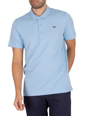 Lacoste Sport Logo Polo Shirt - Light Blue