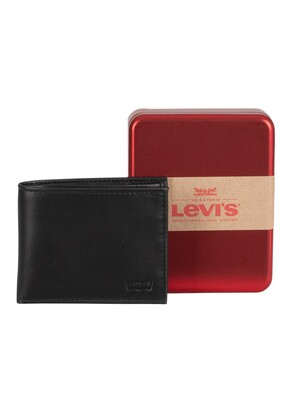 Levi's Casual Classics Leather Wallet - Regular Black
