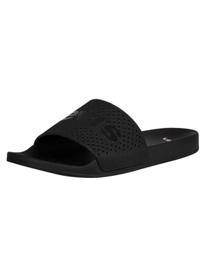 Levi's June Perf Sliders - Regular Black