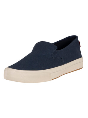 Levi's Summit Slip On Trainers - Navy Blue