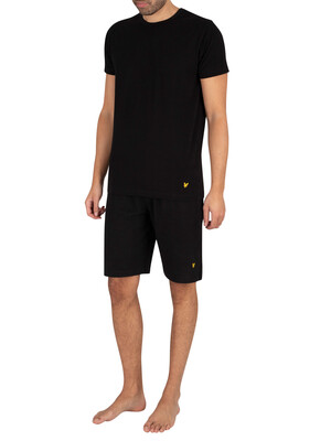 Lyle & Scott Charlie Pyjama Set - Black