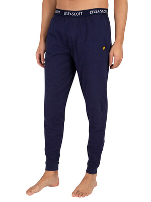 Lyle & Scott Ezra Pyjama Bottoms - Peacoat