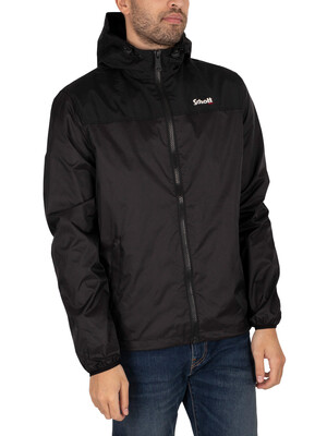 Schott Impermeable Light Weight Jacket - Black