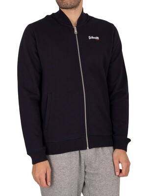 Schott Ross Track Jacket - Navy