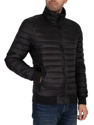 Superdry Fuji Bomber Jacket - Black