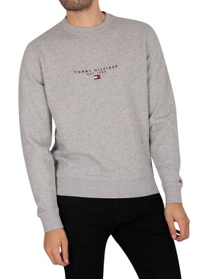 Tommy Hilfiger Essentials Sweatshirt - Medium Grey Heather