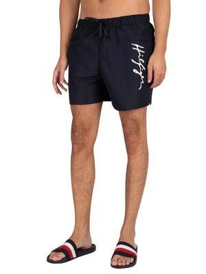 Tommy Hilfiger Medium Drawstring Swim Shorts - Desert Sky