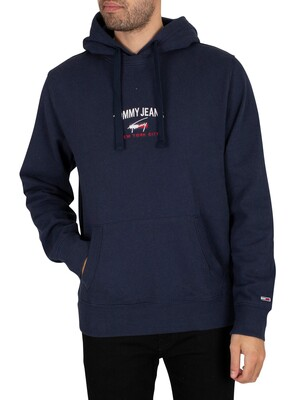 Tommy Jeans Timeless Pullover Hoodie - Twilight Navy