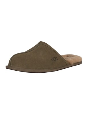 UGG Scuff Suede Slippers - Burnt Olive