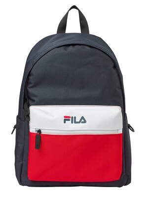 Fila Retford Backpack - Peacoat Chinese Red