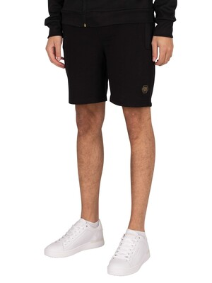 Cruyff Bassa Sweat Shorts - Black