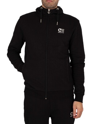 Cruyff Hernandez Zip Through Hoodie - Black