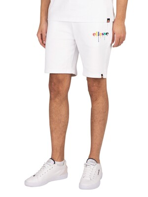 Ellesse Toni Sweat Shorts - White