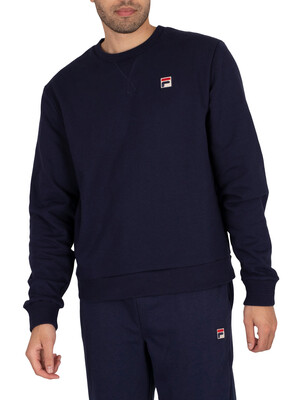 Fila Gantry Essential Fleece Sweatshirt - Peacoat