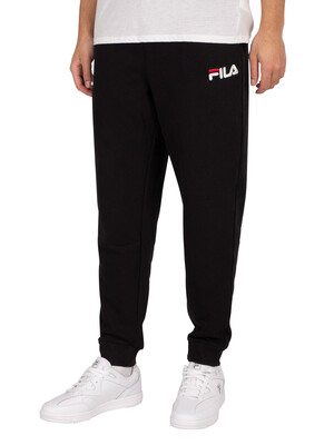 Fila Jakoob Embroidered Logo Joggers - Black