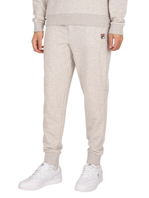Fila Jonas Essential Fleece Joggers - Light Grey Marl