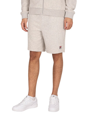 Fila Tommer Essential Sweat Shorts - Light Grey Marl