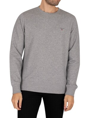 GANT Original Sweatshirt - Grey Melange