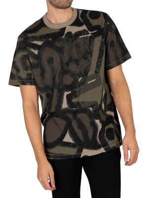 G-Star Brushed Object Loose T-Shirt - Compact Jersey