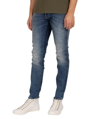 G-Star Revend Skinny Jeans - Faded Clear Sky