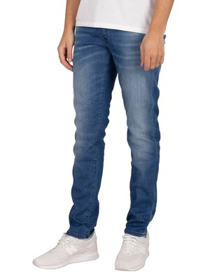 Jack & Jones Glenn 8894 Rock Slim Jeans - Blue Denim