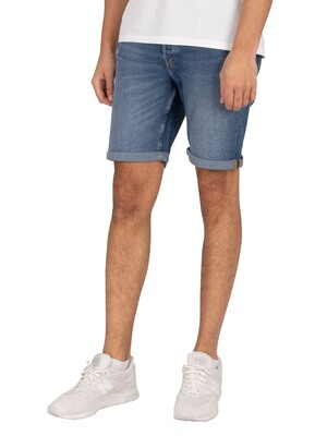 Jack & Jones Rick 031 Denim Shorts - Blue Denim