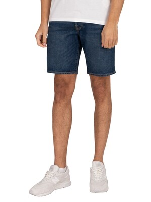 Levi's 501 Hemmed Denim Shorts - Fire Goin