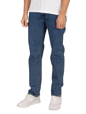 Levi's 514 Straight Jeans - Stonewash Stretch
