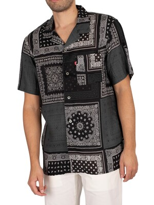 Levi's Cubano Relaxed Shortsleeved Shirt - Multibandana Beautiful