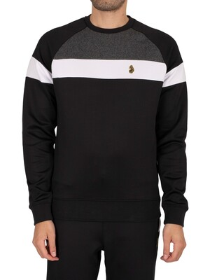 Luke 1977 Adam Sweatshirt - Jet Black